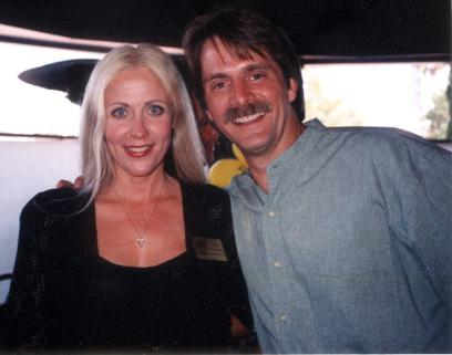 Melissa McConnell & Jeff Foxworthy